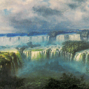 A. Methfessel, «Cataratas del Iguazú»
